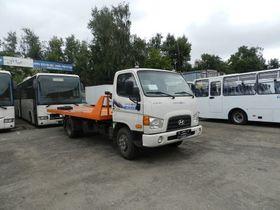 Вид 0: Hyundai HD 78 эвакуатор со сдвижной платформой