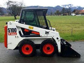Вид 0: Bobcat S100 с гидромолотом